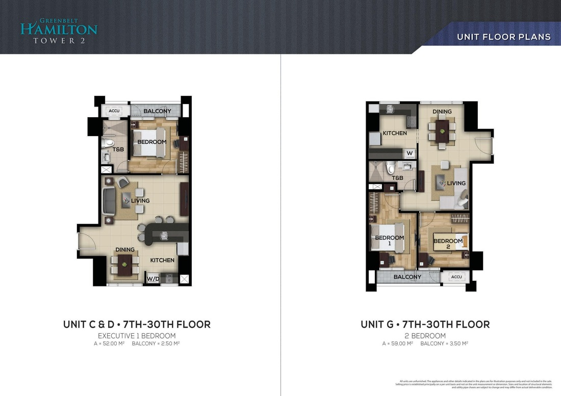 Floor Plan And Unit Lay Out Megaworldcondominium